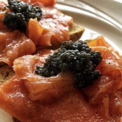 Smoked Salmon & Caviar