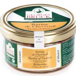 terrine of venison with sylvaner wine