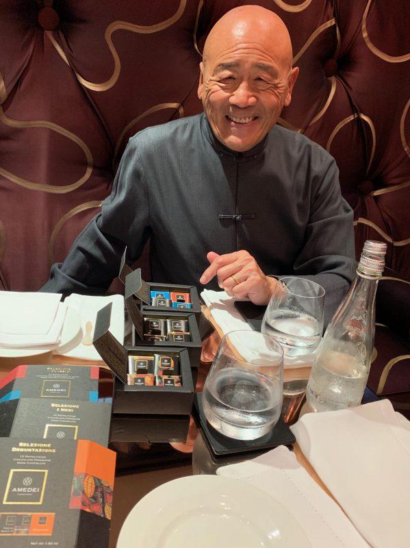 Chef Ken Hom OBE & Amedei Chocolate
