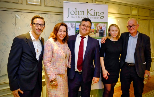 John King Brain Tumour Foundation Fundraising Event
