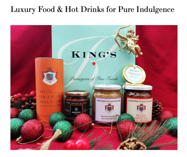 Luxury Food & Hot Drinks for Pure Indulgence