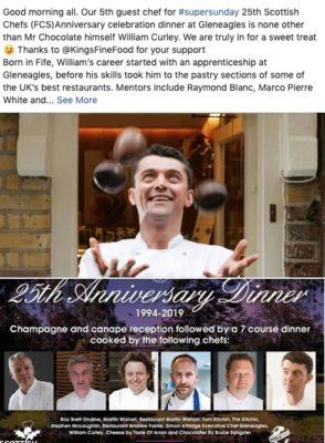 25th Scottish Chefs Anniversary Celebration