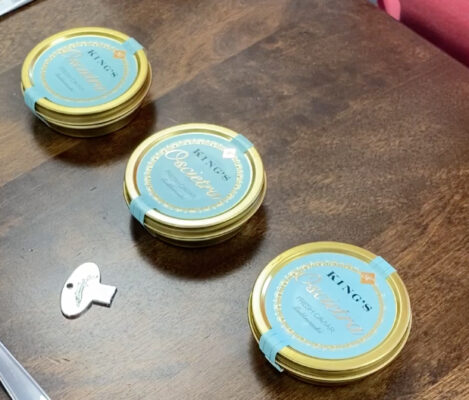 How to Open Your Caviar Tin