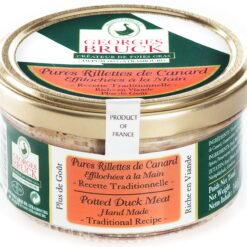 pure rillette of duck meat