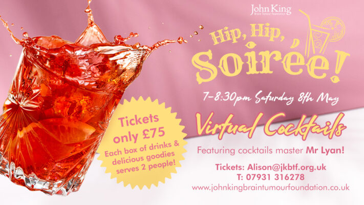 Hip Hip Soirée 7-8:30pm Saturday 8th May