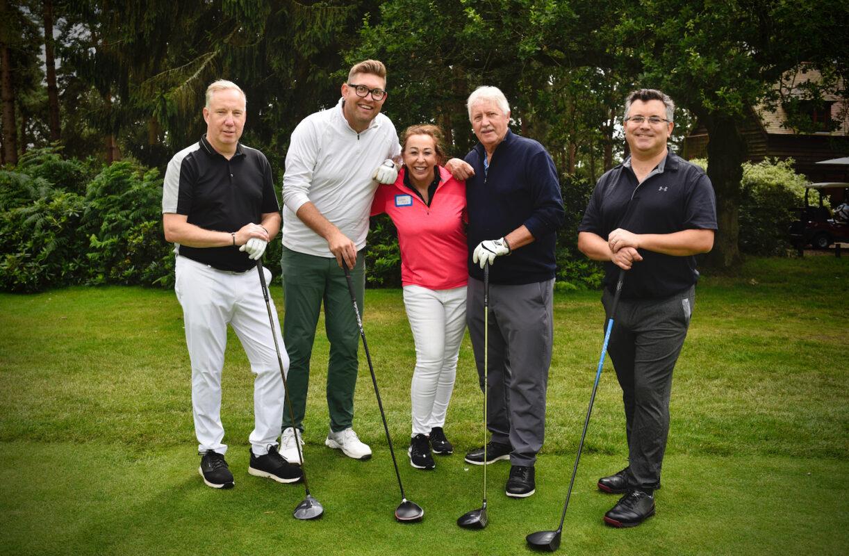 John King Brain Tumour Charity Golf Day Raises £27,000!!!