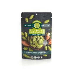 Mount Mayon Premium Pili Nuts - Kyoto Matcha 85g