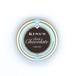 King's Dark Chocolate Caviar