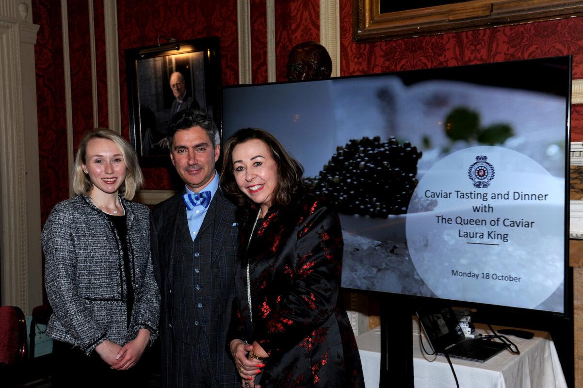 Royal Automobile Club Caviar Tasting Event